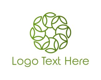 Celtic - Leaf Circle logo design