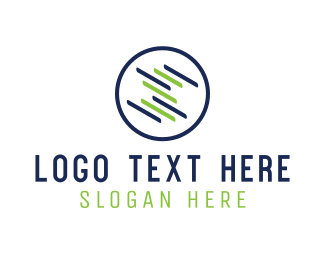 Lines - Round Screen logo design