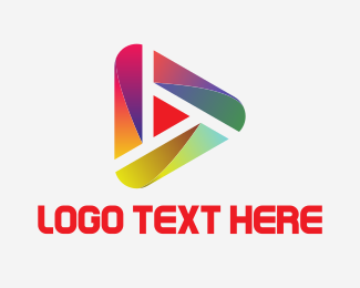 Modern Video Player Logo