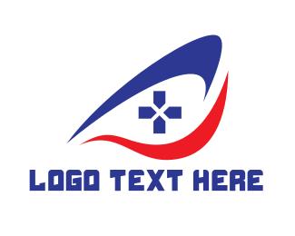 Swoosh - Swoosh Eye Controller logo design