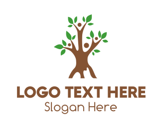 Parenthood - Tree Team logo design