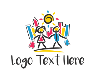 Mall - Shopping City logo design