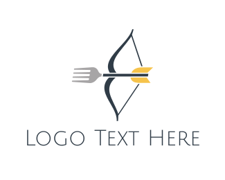 Fork - Fork Shooting logo design