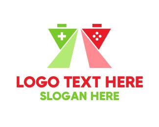 Gaming - Colorful Polygon Gaming logo design