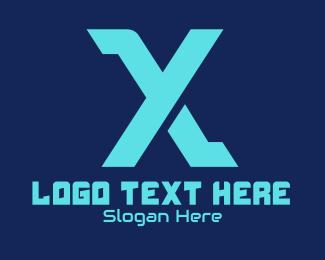 Gamer - Y & X logo design