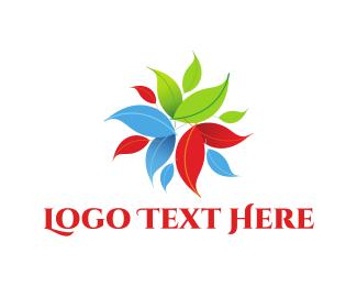 Foliage - Colorful Foliage logo design