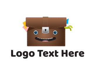 Smiley - Happy Bag logo design