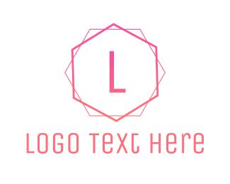 Cake - Pink & Cursive logo design