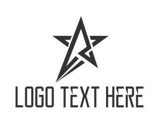 Galaxy - Black Star logo design