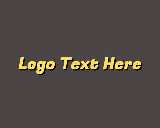 Race - Retro Race logo design