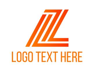 Leo - L & Z logo design