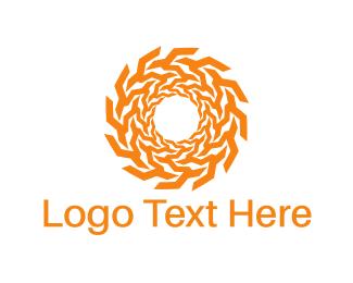 Sunlight - Solar Circle logo design