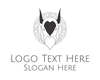 Beard - Evil Goat logo design