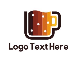 Brew - Digital Beer Mug logo design
