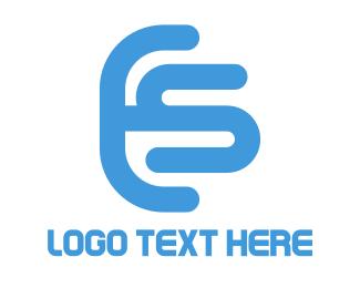 Letter - Letter ES Logo logo design