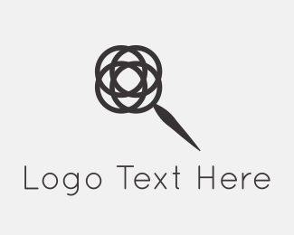 Minimal - Rose Search logo design