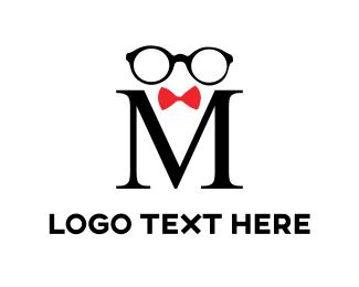 Specs - Black Glasses logo design