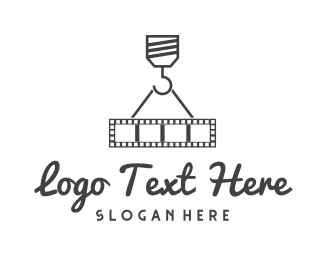Construction - Movie Crane logo design