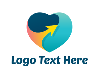 Romantic - Travel Love logo design