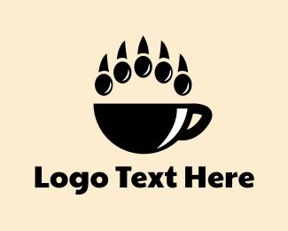 Cafe - Bear Cafe logo design