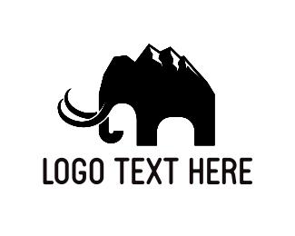 Tusk - Mammoth Mountain logo design
