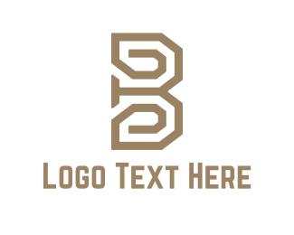 Maze - Maze B logo design