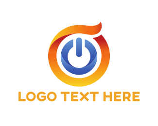 Icon - Power Button logo design