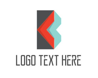 Craft - Envelope Letter B logo design