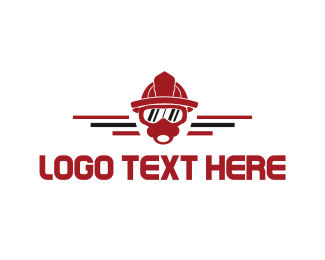 Mask - Firefighter Mask logo design
