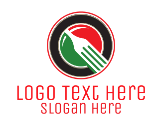 Italy - Italian Fork logo design