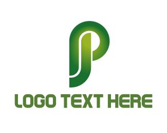 Letter J - J & P logo design
