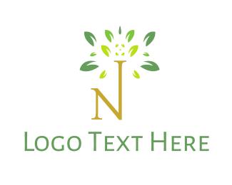 Fresh - Fresh Leaf N logo design