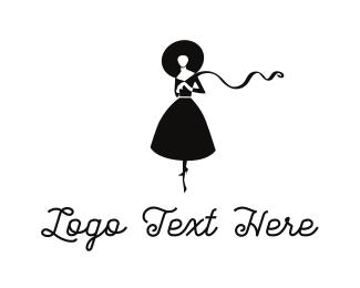 Dress - Dress & Hat logo design