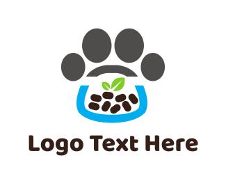 Hamster - Pet Food logo design