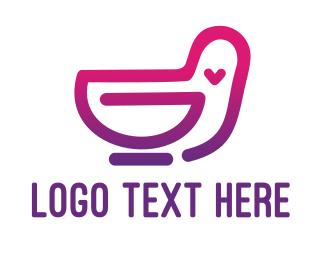 Monogram - Monogram Bird G logo design