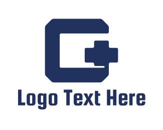 Sign - Modern G Plus logo design