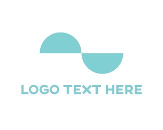 Duo - Mint Curves logo design