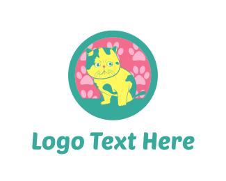 Paw - Cat Paws logo design