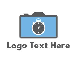 Aperture - Camera & Chronometer logo design