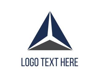 Company - Blue Triangle logo design