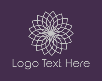 Cosmetic - Mandala Flower logo design