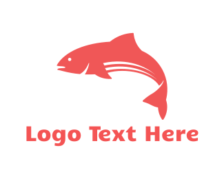 Tuna - Red Fish logo design