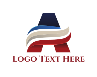 Trading - Corporate Letter A logo design