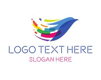 Digital Eagle Work Logo Maker