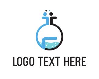 Drug - Chemistry Lab  logo design
