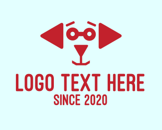 Media Player - Media Dog  logo design