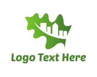 Realtor - Organic City logo design