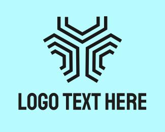 Honeycomb - Modern Honeycomb Pattern logo design