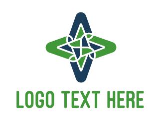 High Tech - Map Twist logo design
