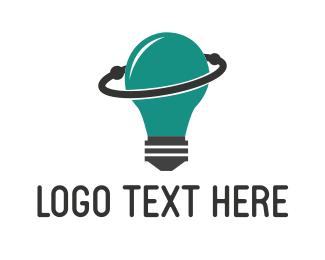 Orbit - Space Lamp logo design